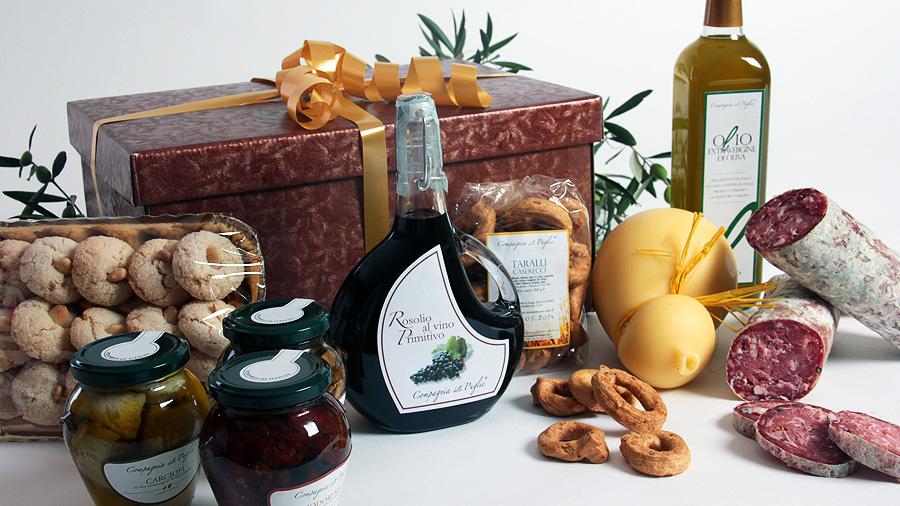 Populaire Cesti Natalizi regalo per Natale e confezioni natalizie per aziende KU73