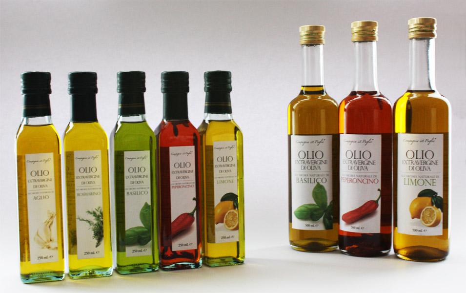 Flavored With Olive Oil Linea Olio aromatizzato